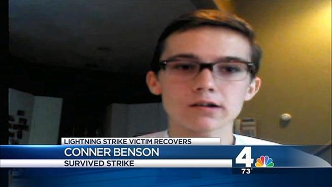 Teen Recounts Near-Death Experience After Possible Lightning Strike