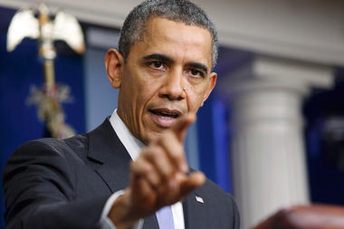 Obama faces the press: So, Mr. President, how bad was your year? (+video)
