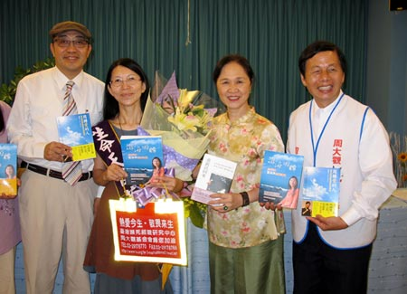 Discussing near-death experience spurs love of life for Taiwan group