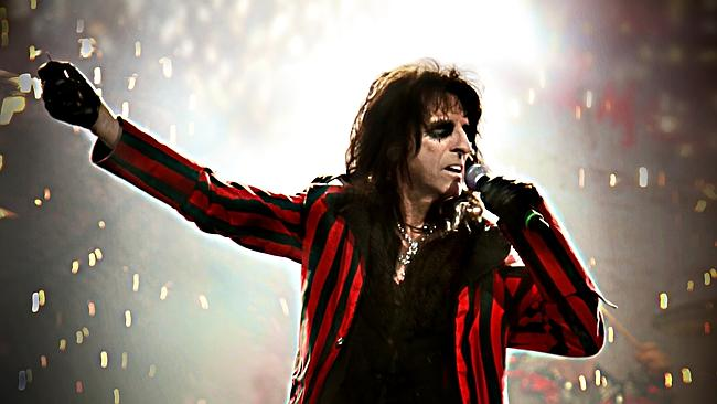 Coming back … Alice Cooper will support Motley Crue on its final ever tour …