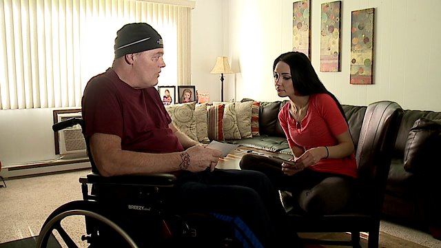 Man paralyzed in accident shares his near-death experience
