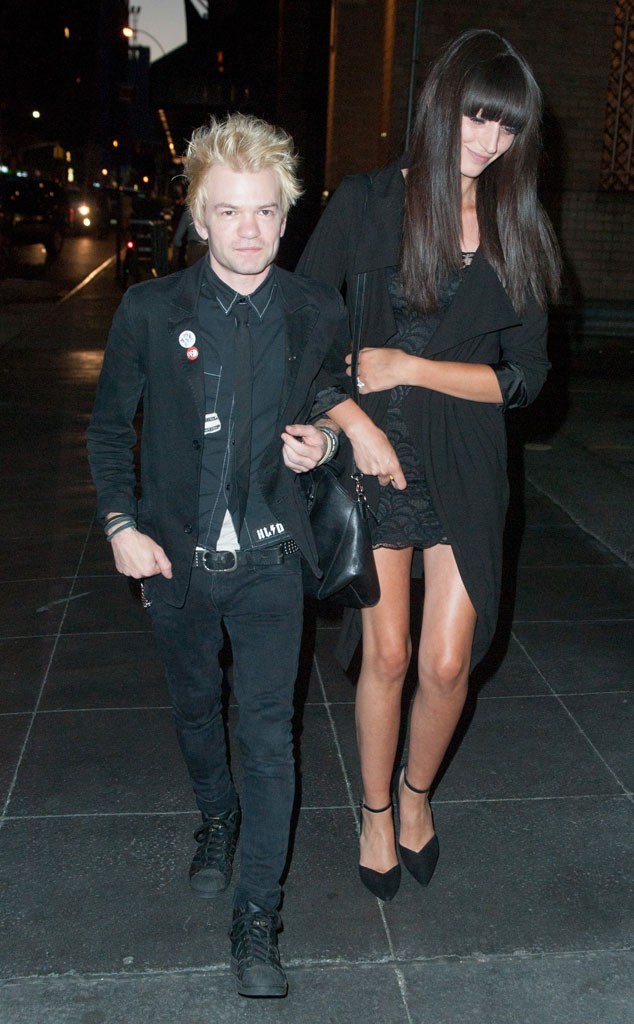 Deryck Whibley Steps Out With Fiancée Looking Much Healthier Following Near …