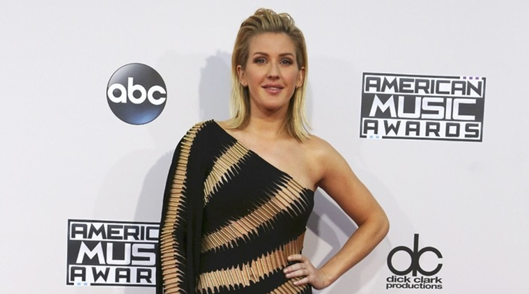 Ellie Goulding suffered a near-death experience