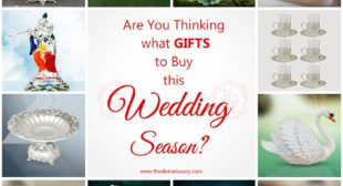 Are you thinking what wedding gifts to buy online this Wedding Season ...