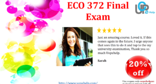 ECO 372 Final Exam New 2014 Answers Free For UOP Student of Fortune