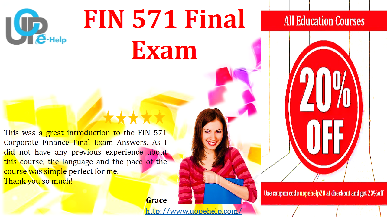 fin571 final exam Fin 571 final exam answersclick here to download answers1 occurs when a follower receives the benefit of an expenditure made by a leader byimitating the l.