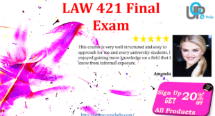 LAW 421 Final Exam Answers Free