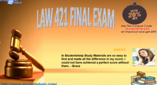 New Law 421 final exam 2016 Questions and Answers for Contemporary Business Law