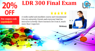 LDR 300 Final Exam 30 Questions and Answers Free