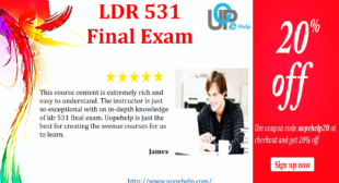 LDR 531 Final Exam 2015 – 2016 Questions and Answers