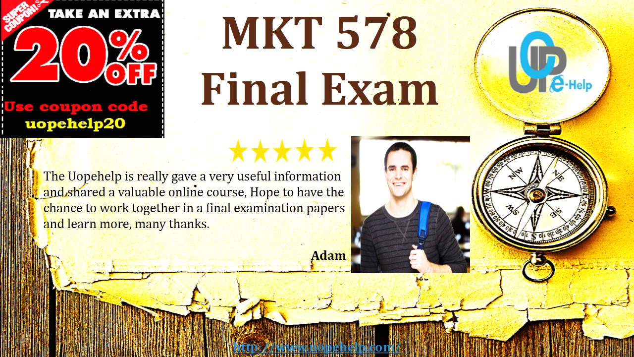 marketing management final exam questions Midterm and final exam examples exams are a great way to reinforce and evaluate students' understanding of the course content and main ideas there are several different ways to approach exams including an in-class essay, short essays, multiple choice, short answer, fill in the blank, matching, quote/passage identification, character.