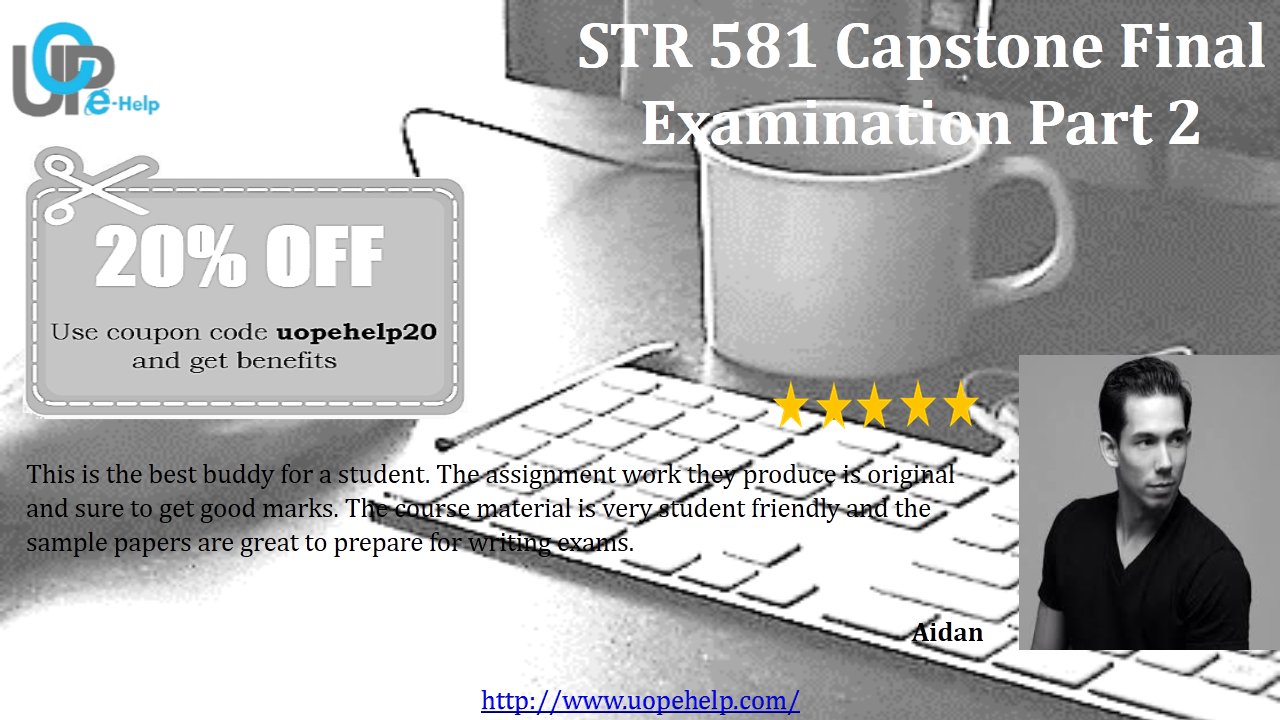 str 581 capstone final examination part Str 581/ capstone final exam part 3 score: 29/30 (9667%) 1 hilton  hotels customizes rooms and lobbies according to location northeastern hotels .