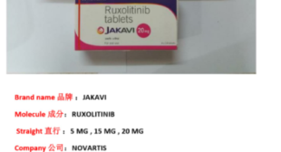 Jakavi Ruxolitinib Tablets Wholesale Price India Supply